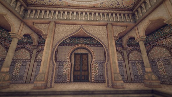 Thumbnail for Arabic Palace Architecture - 2