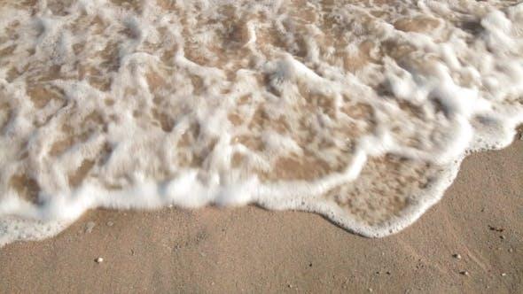 Sea. Sandy Beach, Tranquil Idyllic Scene