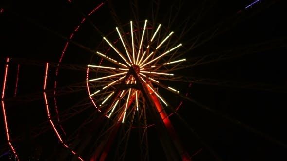 Thumbnail for Ferris Wheel Lights At Night