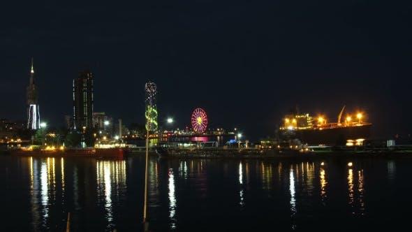 Thumbnail for Night City Of Batumi, Georgia
