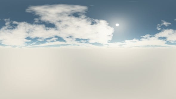 Thumbnail for 360 Grad Panorama Himmel und Wolken