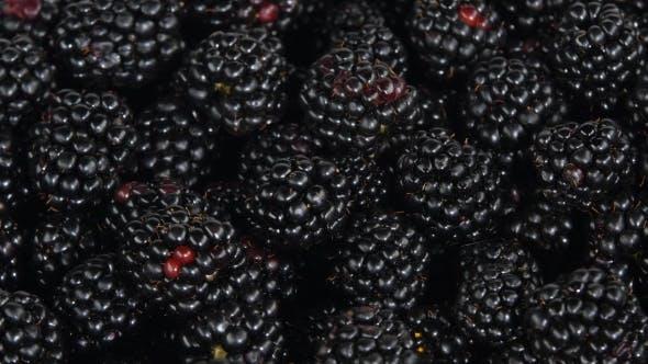 Thumbnail for Blackberries. Rotating. White