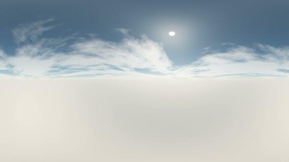 Thumbnail for 360 Grad Panorama Himmel und Wolken