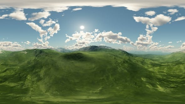 Thumbnail for Panoramic Of Green Hills Landscape