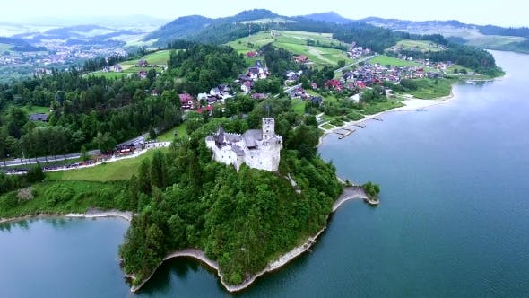 Thumbnail for Old Castle On Lake Bank