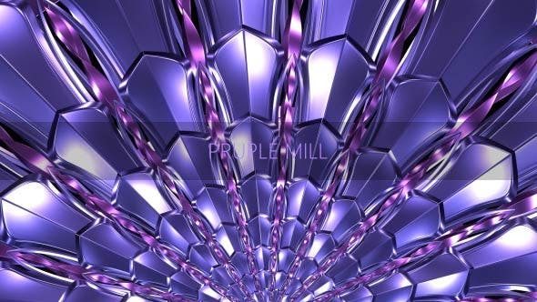 Фиолетовая мельница