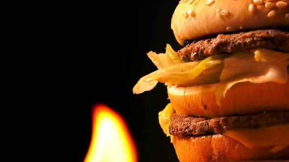 Thumbnail for Hamburger On Fire