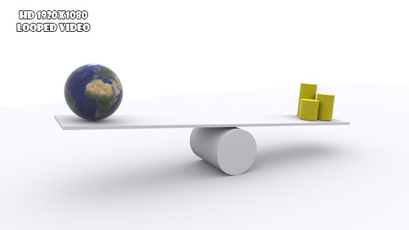 Teeter - Balance Of Wealth And Earth Resource