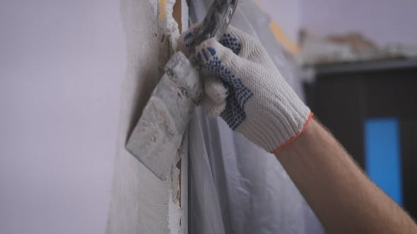 Thumbnail for Hand Coating Wall Of Plaster
