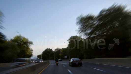 Thumbnail for NYC henry hudson pkwy drive HD