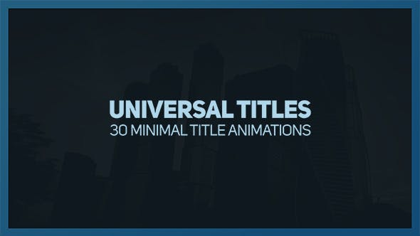 Thumbnail for Universal Titles 2
