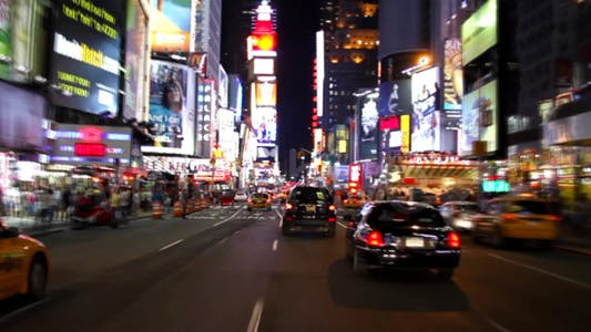 Thumbnail for Times Square New York City at night Full HD