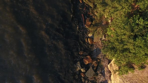 Thumbnail for Aerial View To Cliff And Baltic Sea In Estonia 5