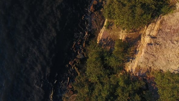 Thumbnail for Aerial View To Cliff And Baltic Sea In Estonia 6