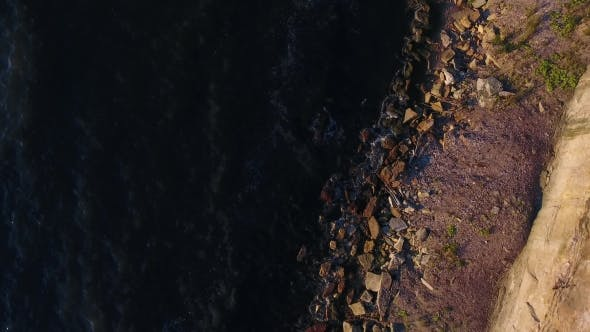 Thumbnail for Aerial View To Cliff And Baltic Sea In Estonia 7