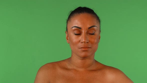 Thumbnail for Gorgeous African Woman Looking Skeptical and Judgemental