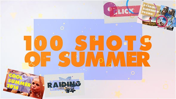 Thumbnail for 100 Shots of Summer Slideshow