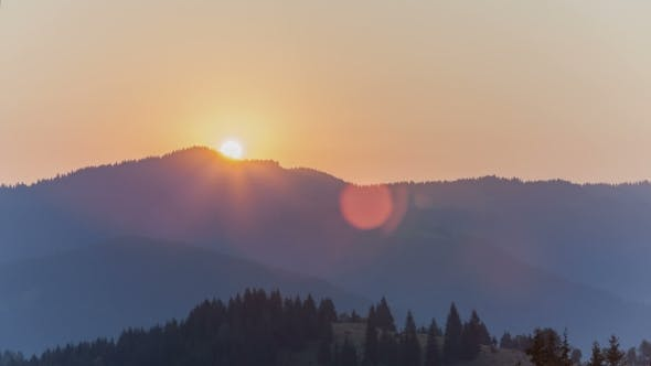 Thumbnail for Sunrise Over The Mountain
