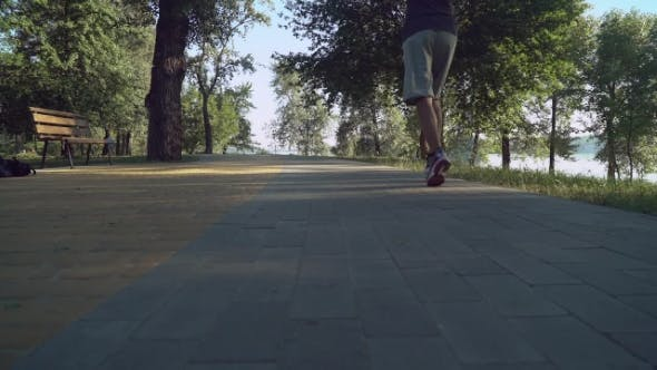 Thumbnail for Male At The Morning Running