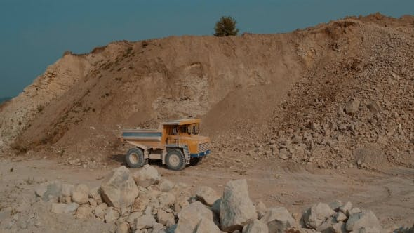 Thumbnail for Quarry Mountain. Loaded Ore Dump Heavy Going For a Career