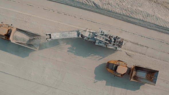 Thumbnail for Loading Large Truck Limestone Quarry