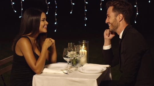 Thumbnail for Romantic Couple Enjoying An Evening Dinner