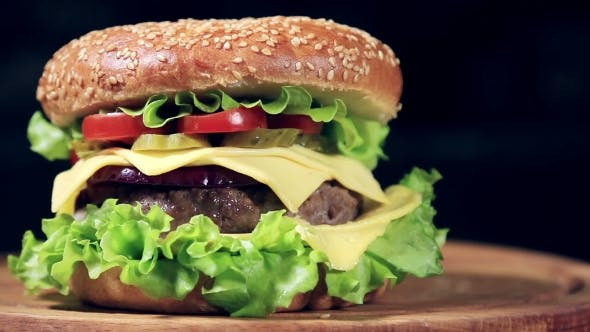 Beef Burger Meal  French Fries