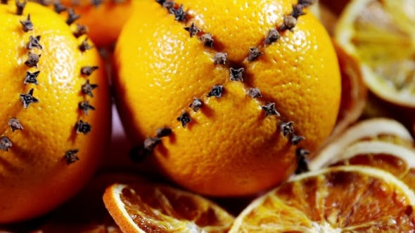 Thumbnail for Dried Orange Slices And Oranges