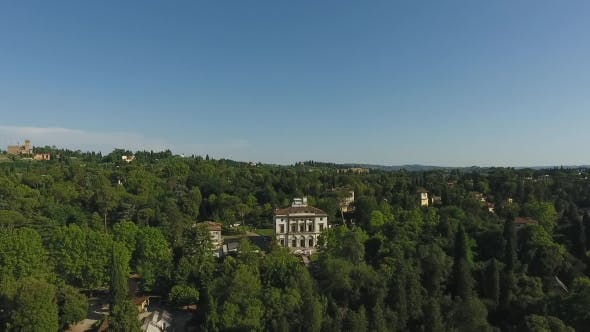 Thumbnail for Beautiful Cityscape Of Florence With The Villa Cora