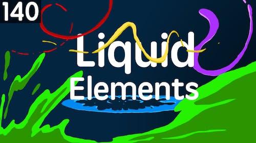 140 Flüssige Elemente