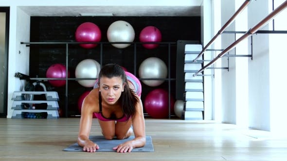 Thumbnail for Fitness Girl In The Gym