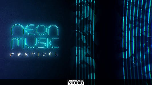 Thumbnail for Neon Music Event