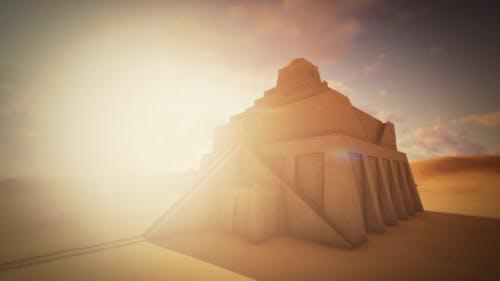 Sumerian Pyramid Ziggurat