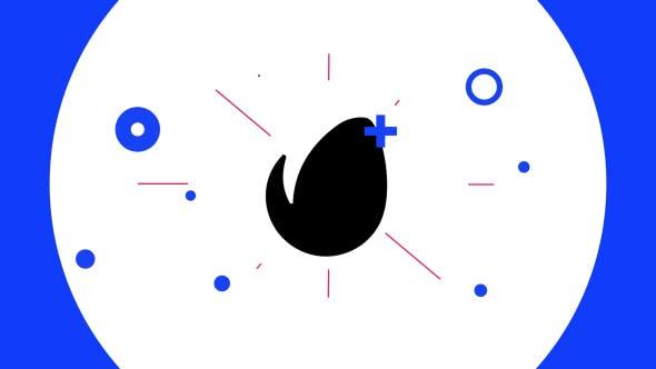 Thumbnail for 4K - Flat Glitch Logo Opener