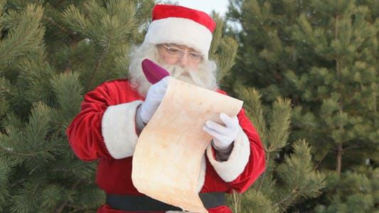 Cover Image for Santa Writing Letter