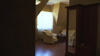 Interior Room a Hotel Room