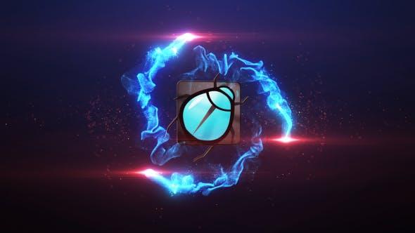 Thumbnail for Revelar el Logo de Explosión de partículas