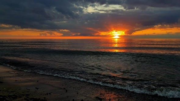 Thumbnail for Sunset At Baltic Sea Coast
