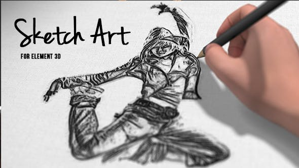 Thumbnail for Pencil Sketch Art
