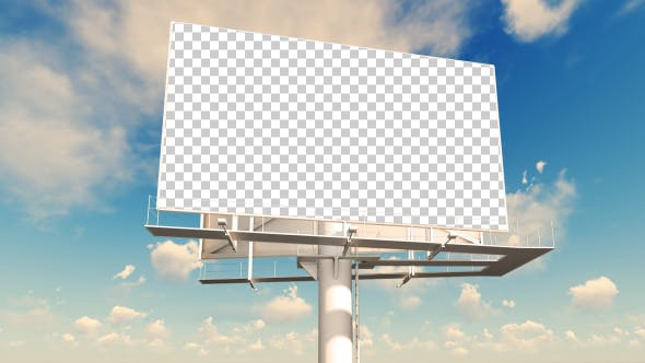 Thumbnail for Advertising Billboard - Sunny Day