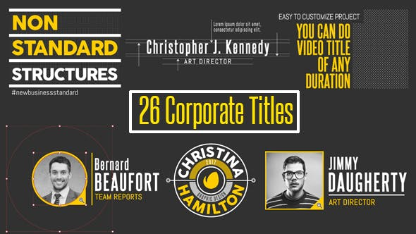 Thumbnail for 26 Corporate Titles