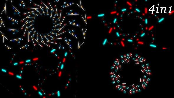 Thumbnail for Neon Light - VJ Loop Pack (4in1)