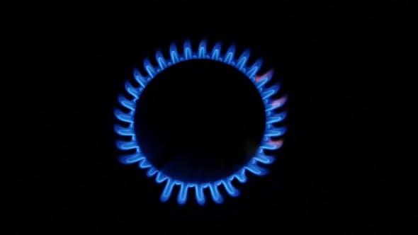 Turn On Gas Burner.