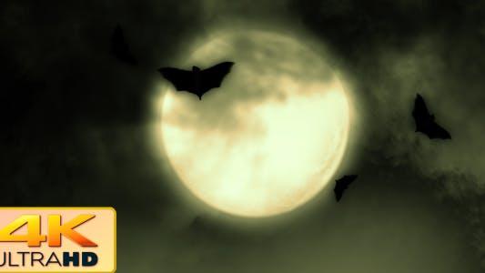 Thumbnail for Halloween Moon Bats 2