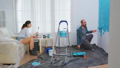 Couple Conversation and Home Renovation