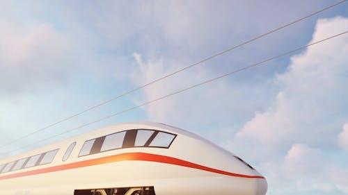High Speed ICE Train - Sunset