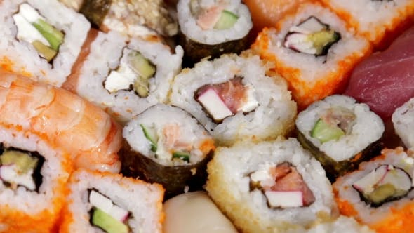 Thumbnail for Fresh Japanese Sushi And Rolls