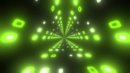 4k Triangle Disco Lights Tunnel Pack