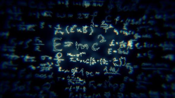 Thumbnail for Mathematical Formulas Background