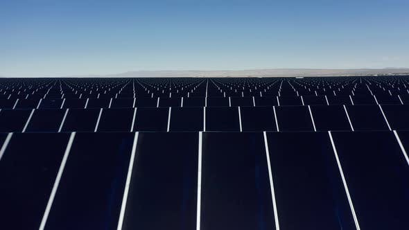 Thumbnail for Solar Panels on the Background of the Desert, Blue Sky, Alternative Energy
